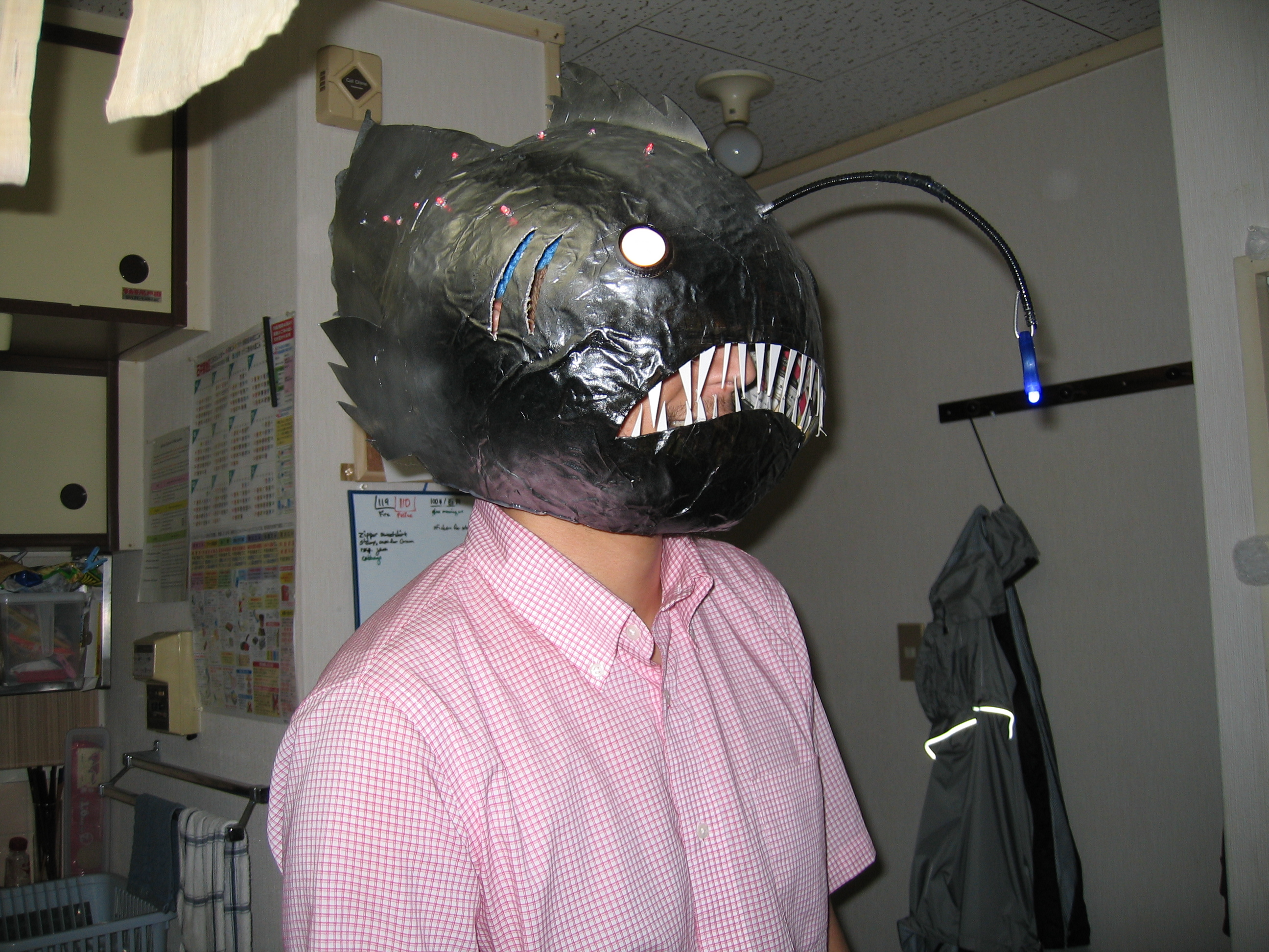 How to make an Anglerfish mask