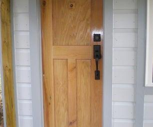 Building My Tiny House Door