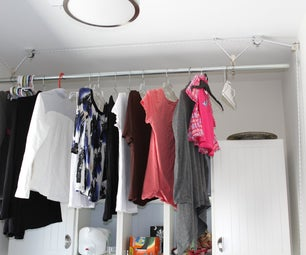 Hideaway Hanging Rack