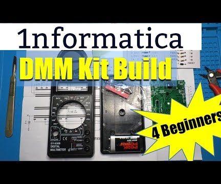 Digital Multimeter Kit Build DT830B DMM - Electronic Beginners Project