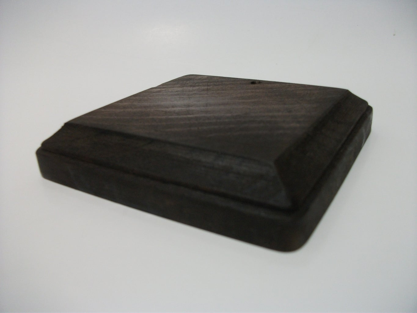 Wooden Base and Stain...