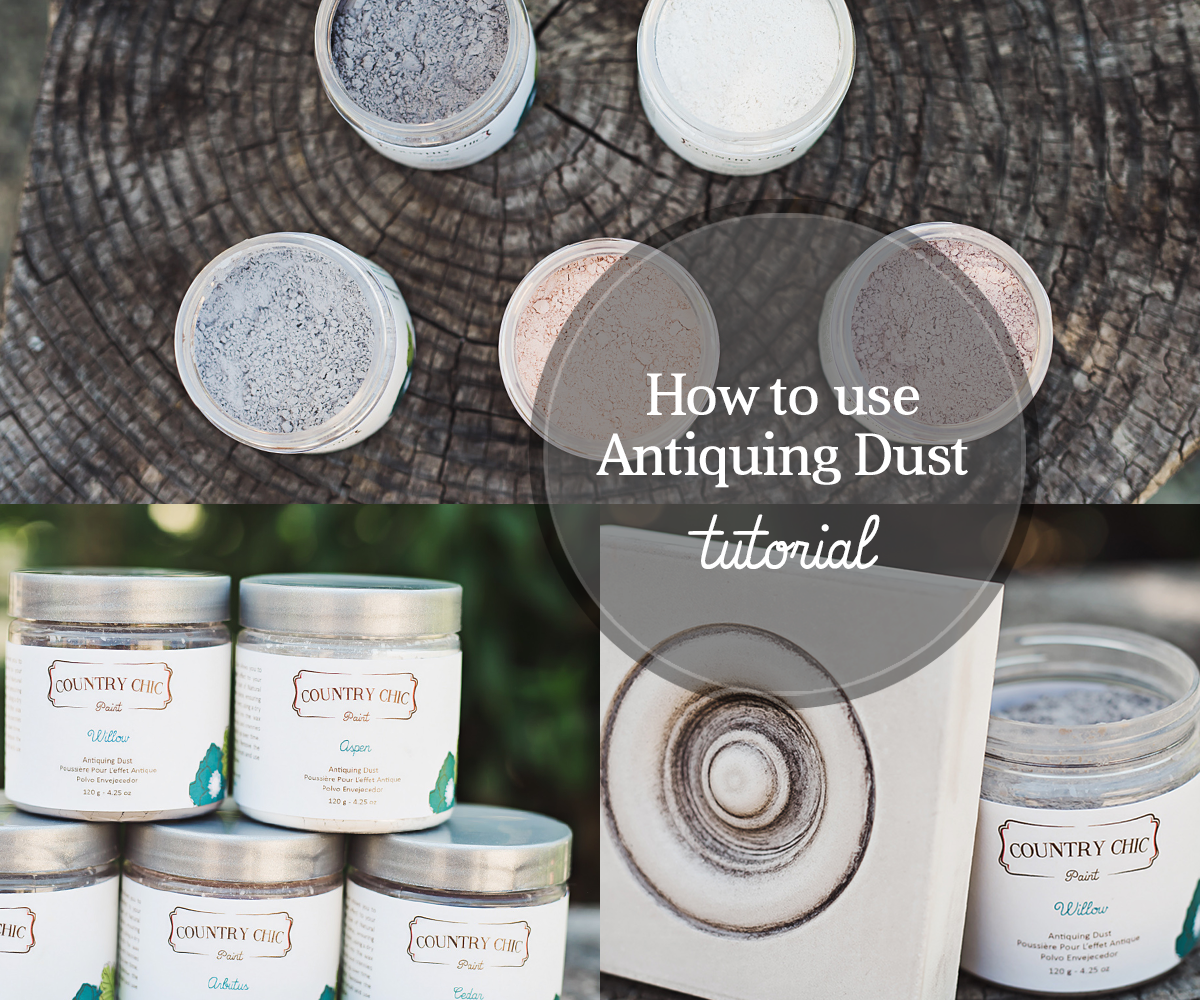How To Use Antiquing Dust to Age Your Furniture