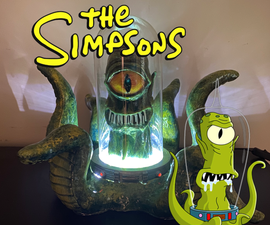 Kang/Kodos Sculpture Lamp