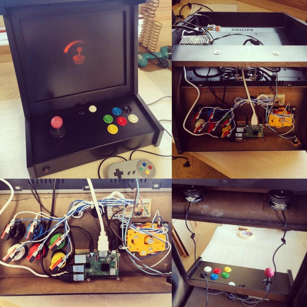 DIY Arcade Box With Raspberry Pi and RetroPie