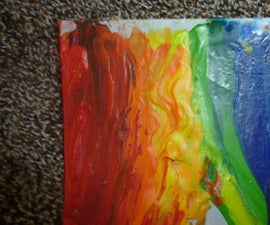 The Crayon Painting