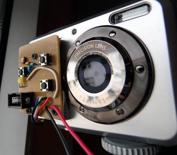 Time Lapse Add-on to a Rollei Digicam