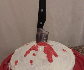 Bloody Knife Cake