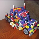 Here are some of my custom and glitched's knex transformers