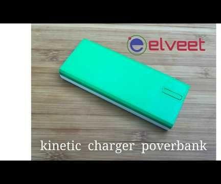 Elveet. Kinetic Charger Poverbank