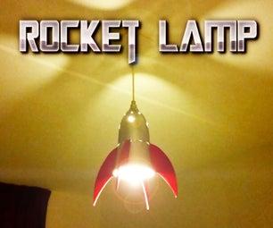 Rocket Lamp