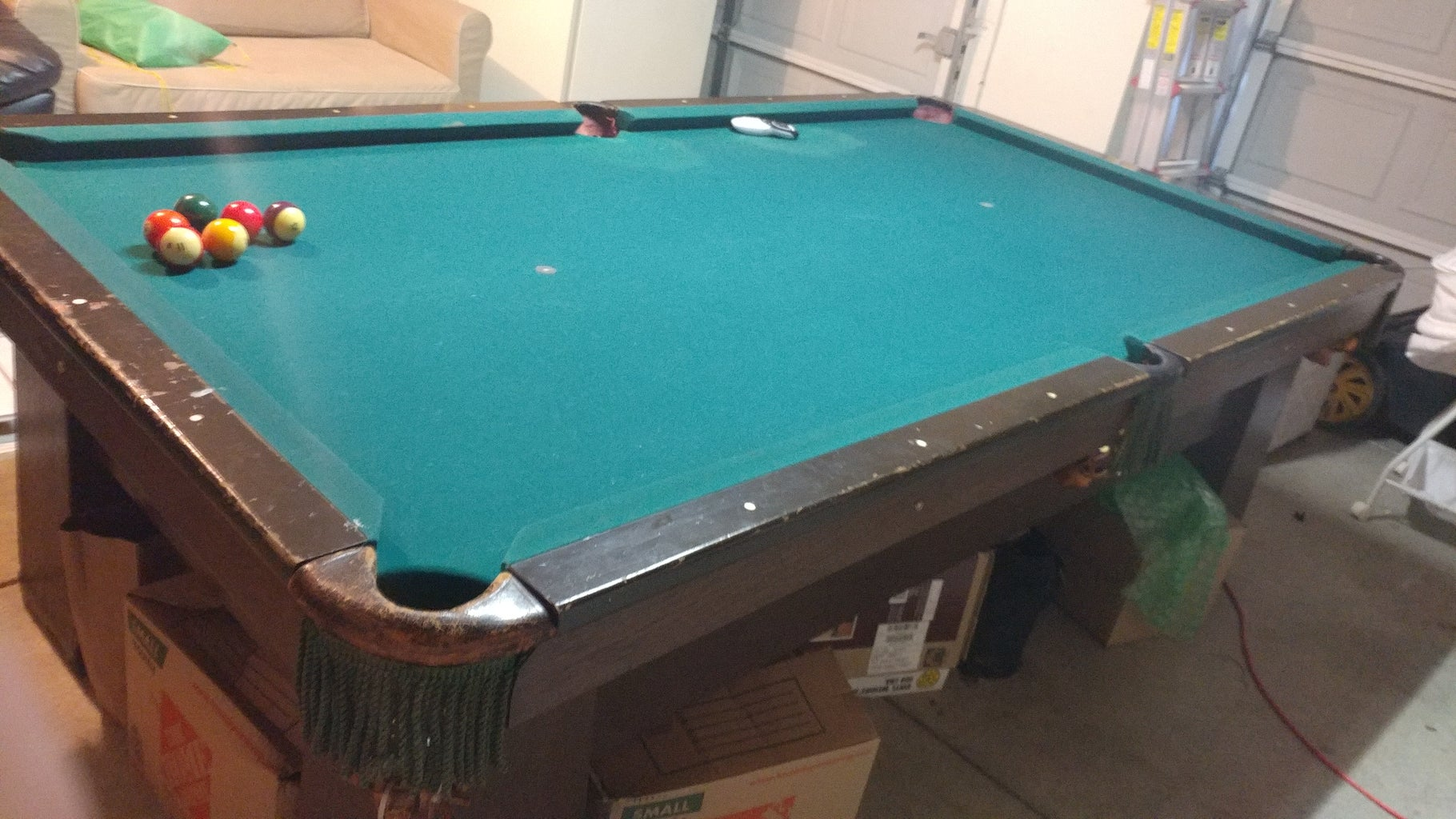 Refurbish Pool Table