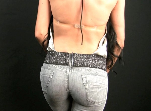 Create a Sexy Backless Halter Top