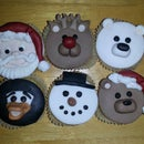 Christmas Cupcakes (for Crisis)