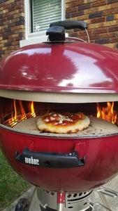 Weber Grill Pizza Oven Conversion - Homemade KettlePizza