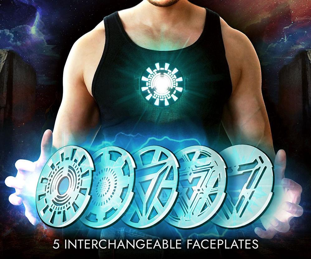 Iron Man Wearable Arc Reactor (Under Shirt) - 5 Designs