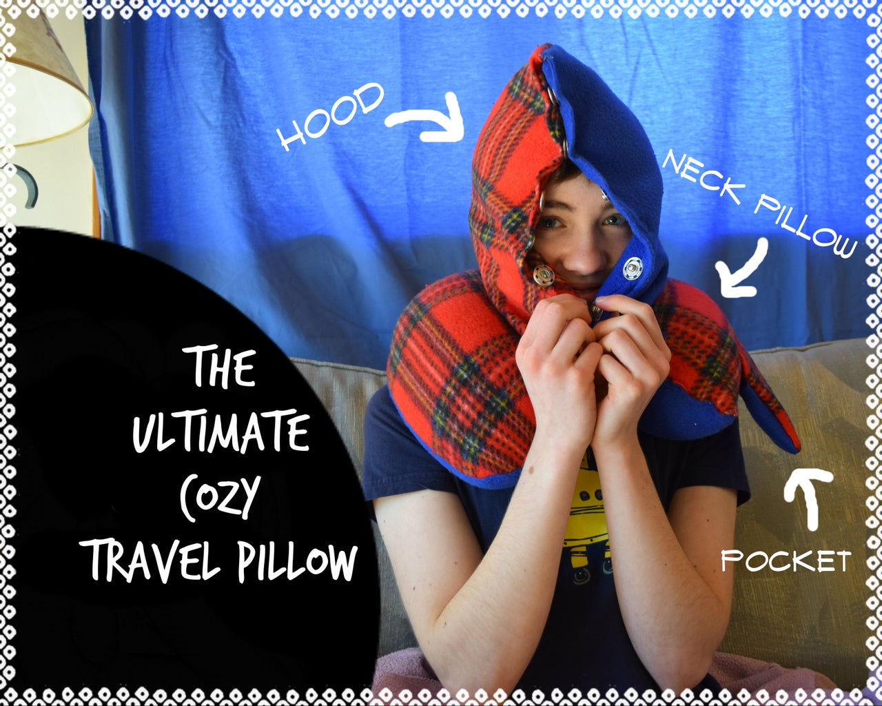 The Ultimate Cozy Travel Pillow