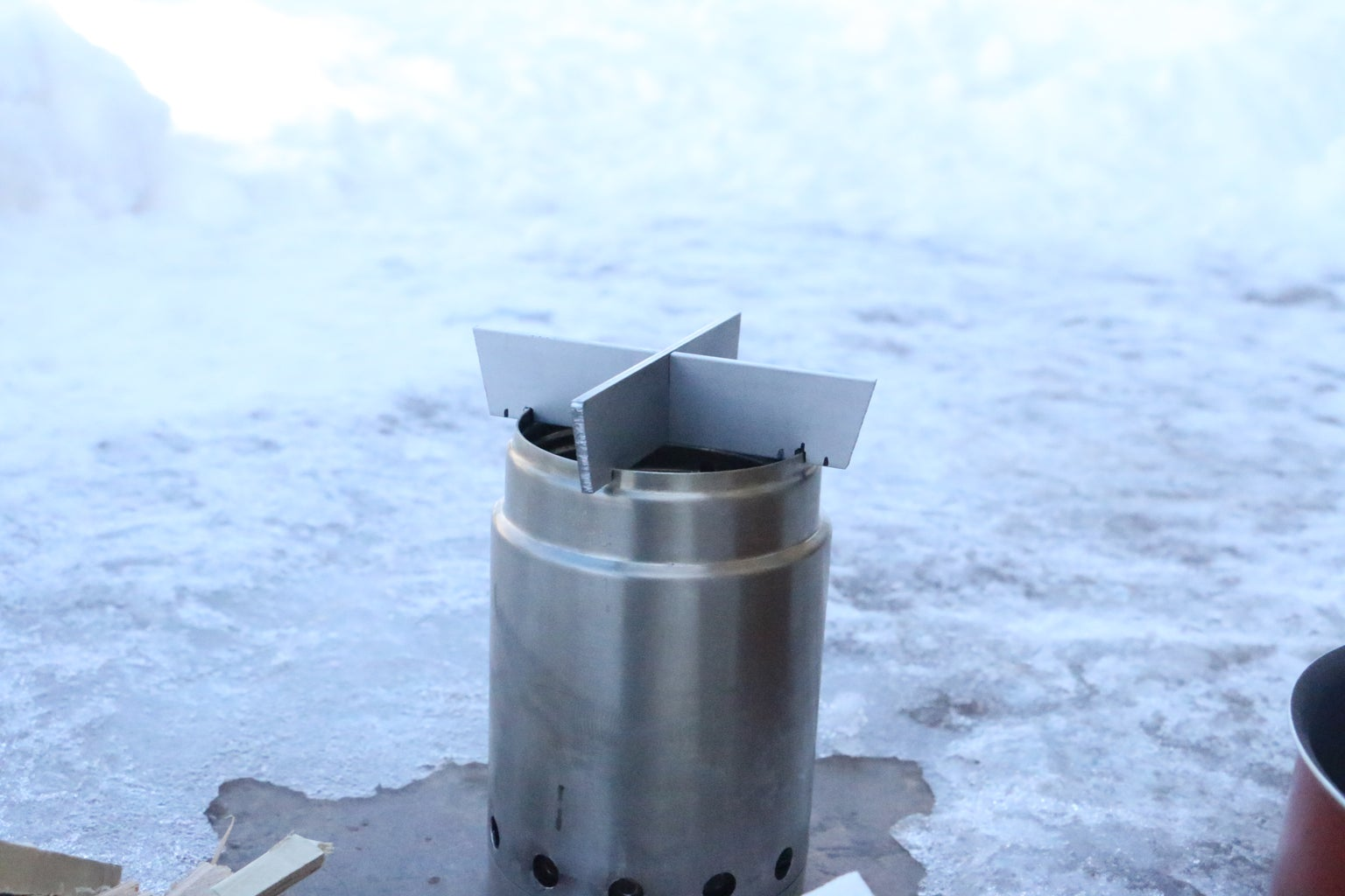 UPDATE! Backpacking Gasifier Stove