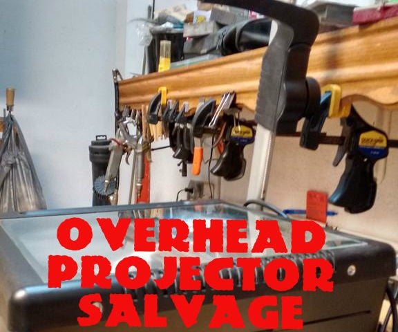 Overhead Projector Salvage