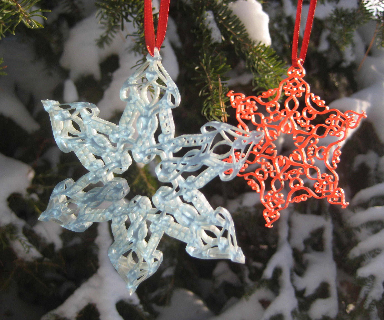Laser-cut Ornaments