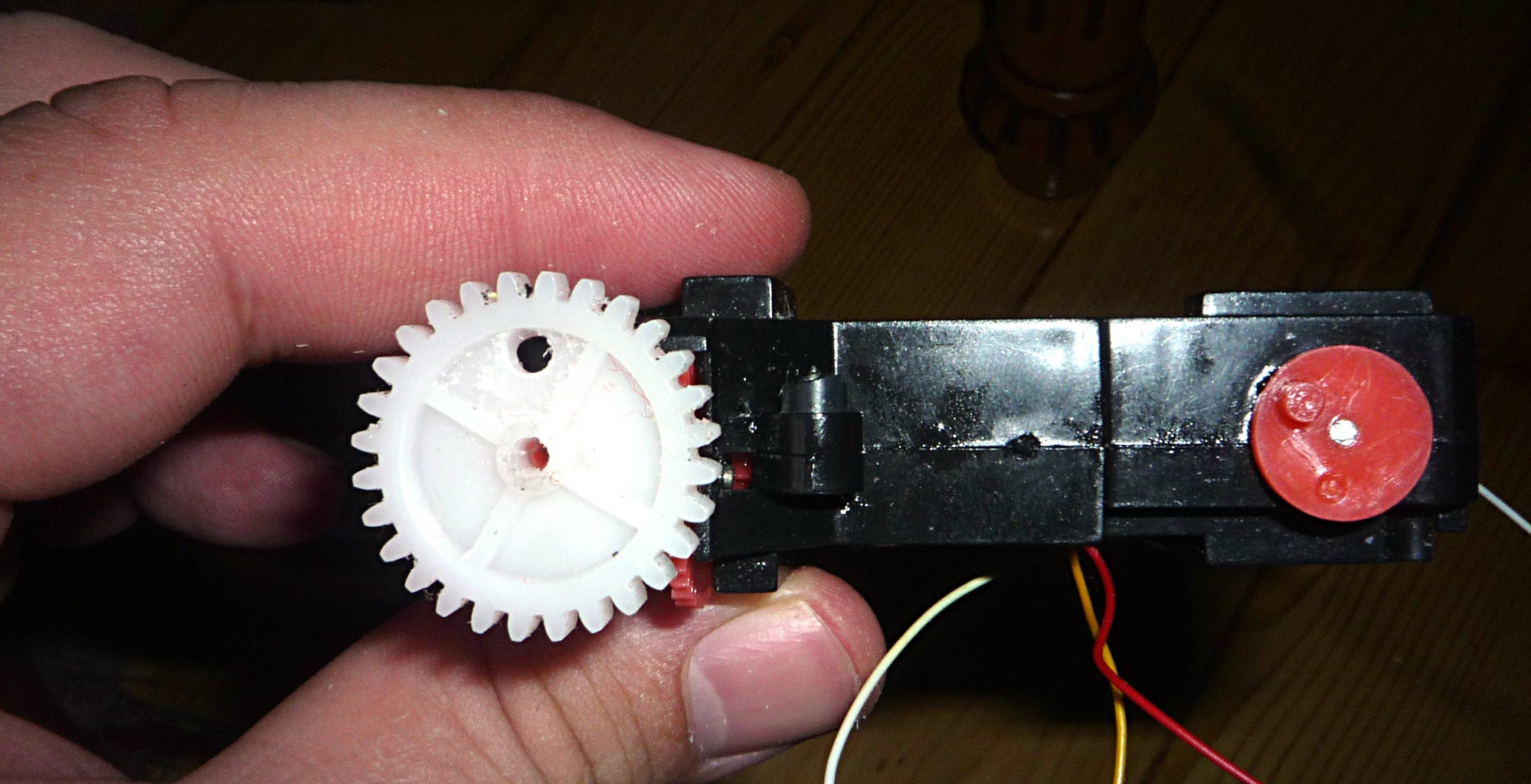 Holes in the Big White Gears