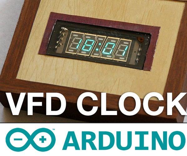 Arduino VFD Display Clock Tutorial - a Guide to VFD Displays
