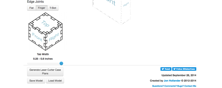 Create Your MakerCase Outline