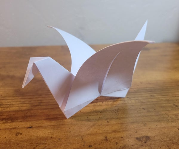 How to Fold a Paper Crane- Easy Instructions