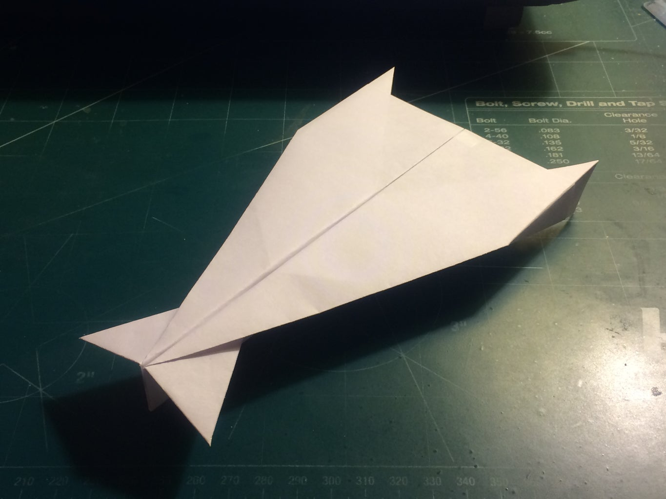 How to Make the Strike Ultraceptor Paper Airplane