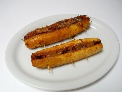 Fried Dessert Plantains a La Colombiana