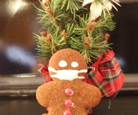 Masked Gingerbread Men