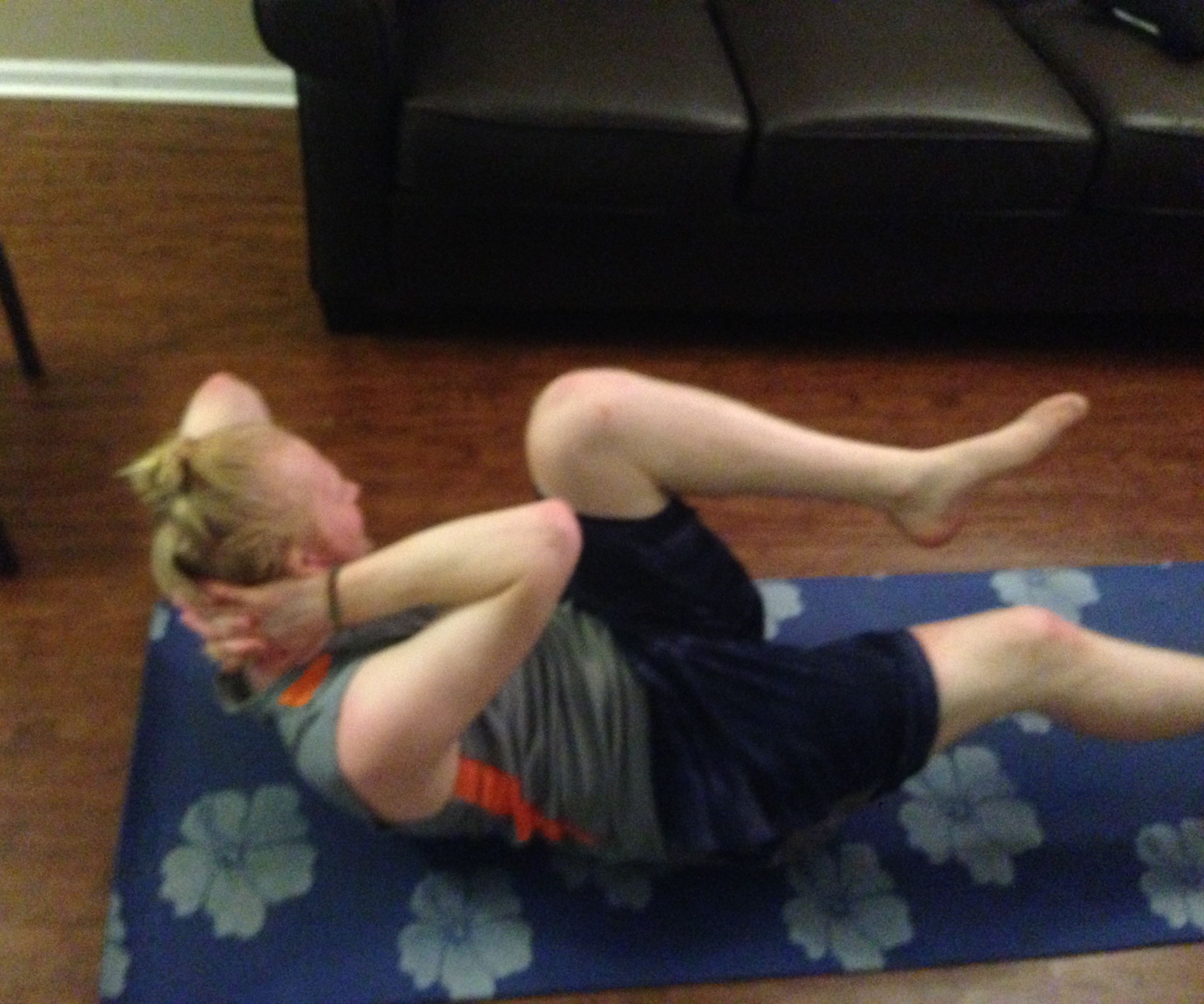Full Ab at Home Workout