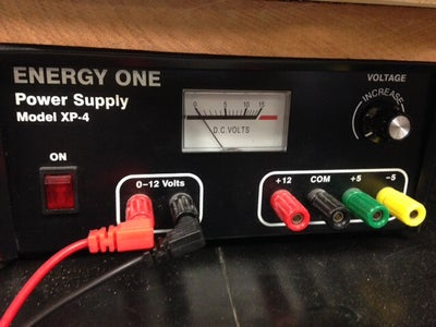 Wire the Electronics and Prepare the Power Supply