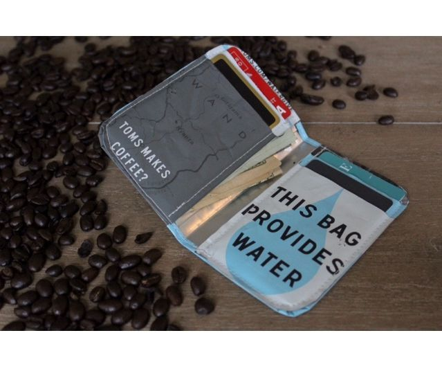 DIY Coffee Bag Wallet
