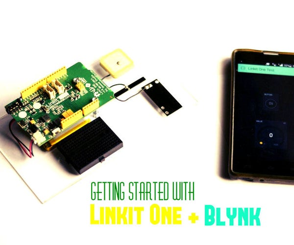 Getting Started With Linkit One + Blynk