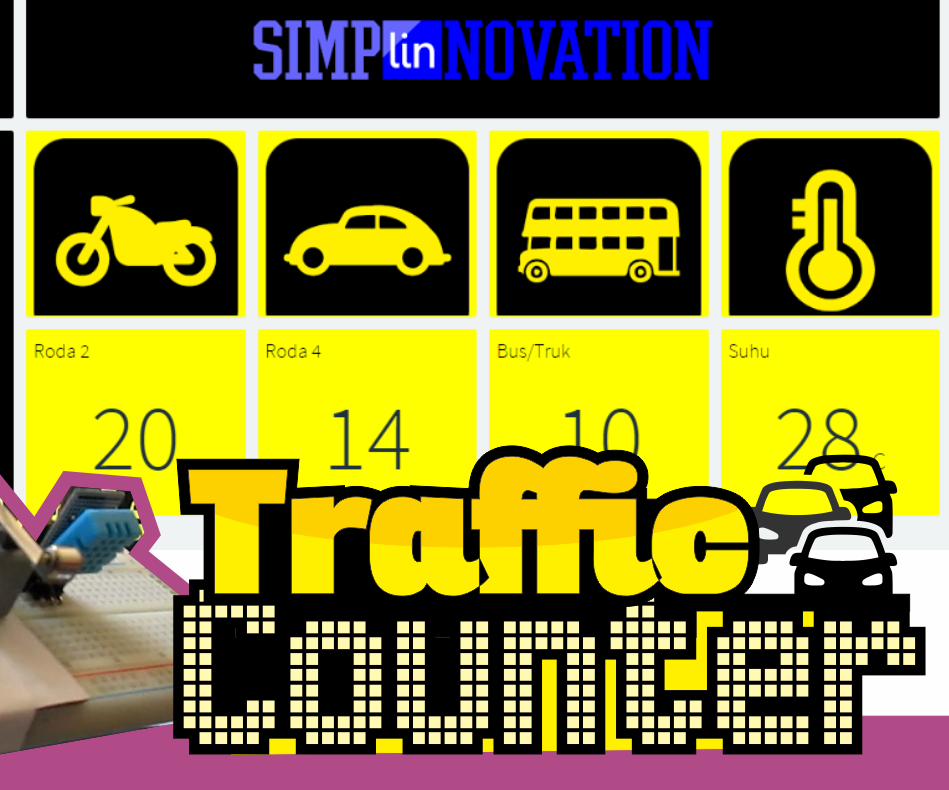 IoT Traffic Counter With NodeMCU & Thinger.io