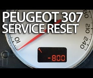 How to Reset Service Reminder in Peugeot 307