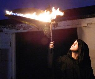 Ruben's Tube Fire Scythe Engineering Project / Prop