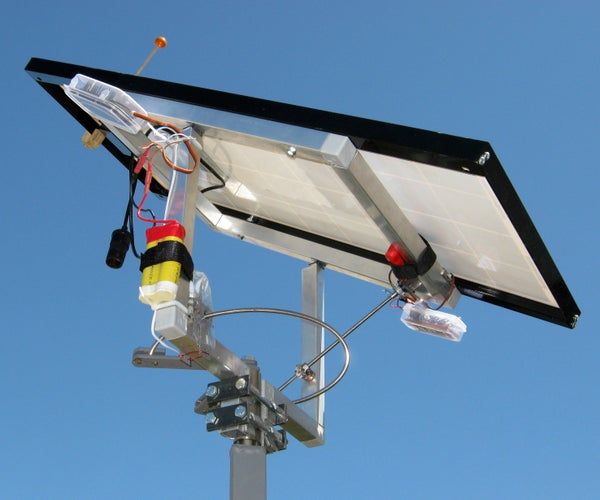 Dual Axis Transistorized Solar Tracker