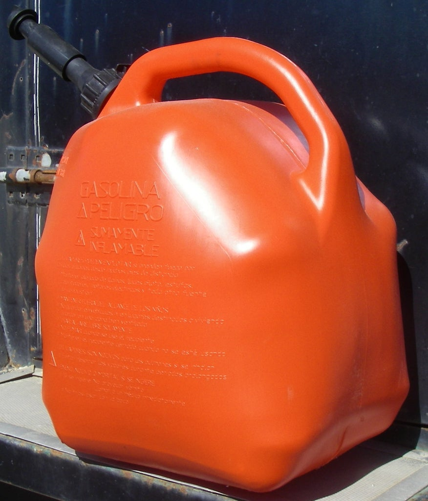 Don't Leave Your Gas Can in the Sun
