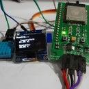 Weather Monitoring Using ESP32_DHT11_OLED_Thingspeak