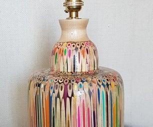 Colour Pencil Lamp