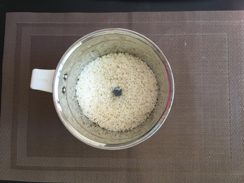 Making of Homemade Rice Flour Especially for Murukku