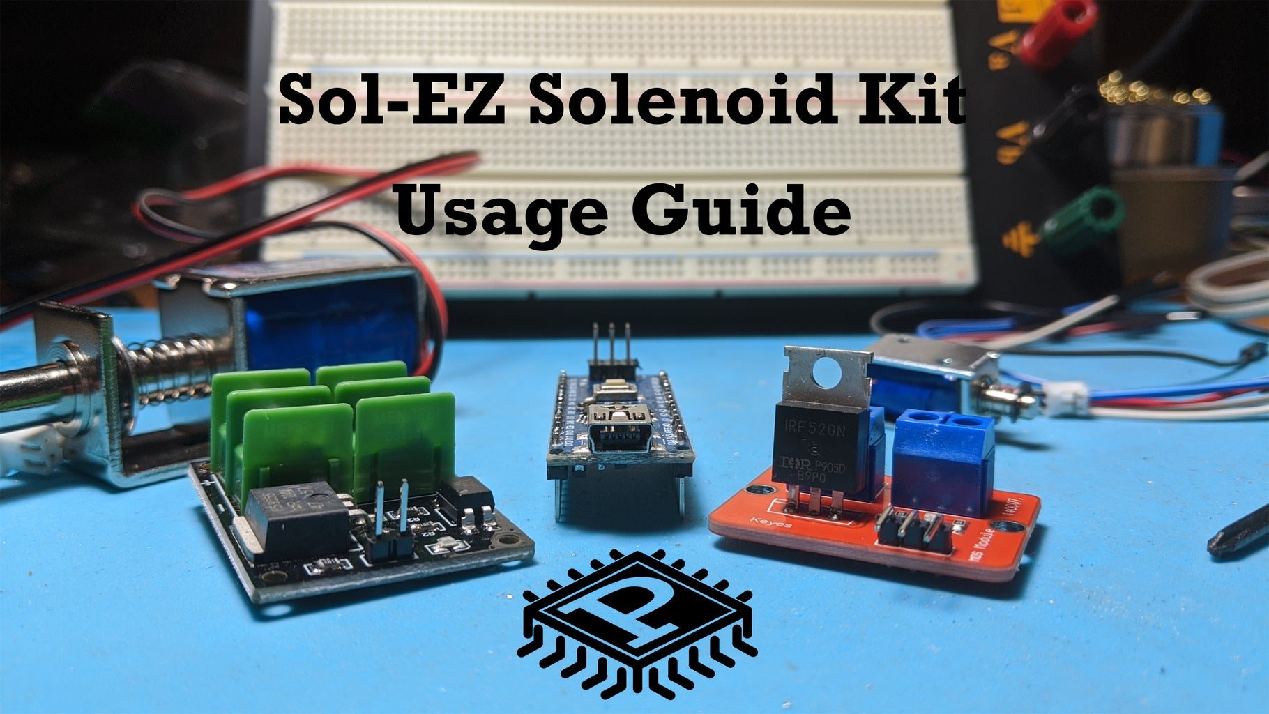 Sol-EZ Solenoid Driver Kit Usage Guide