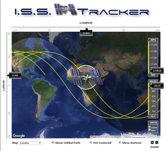 How I Saw the International Space Station