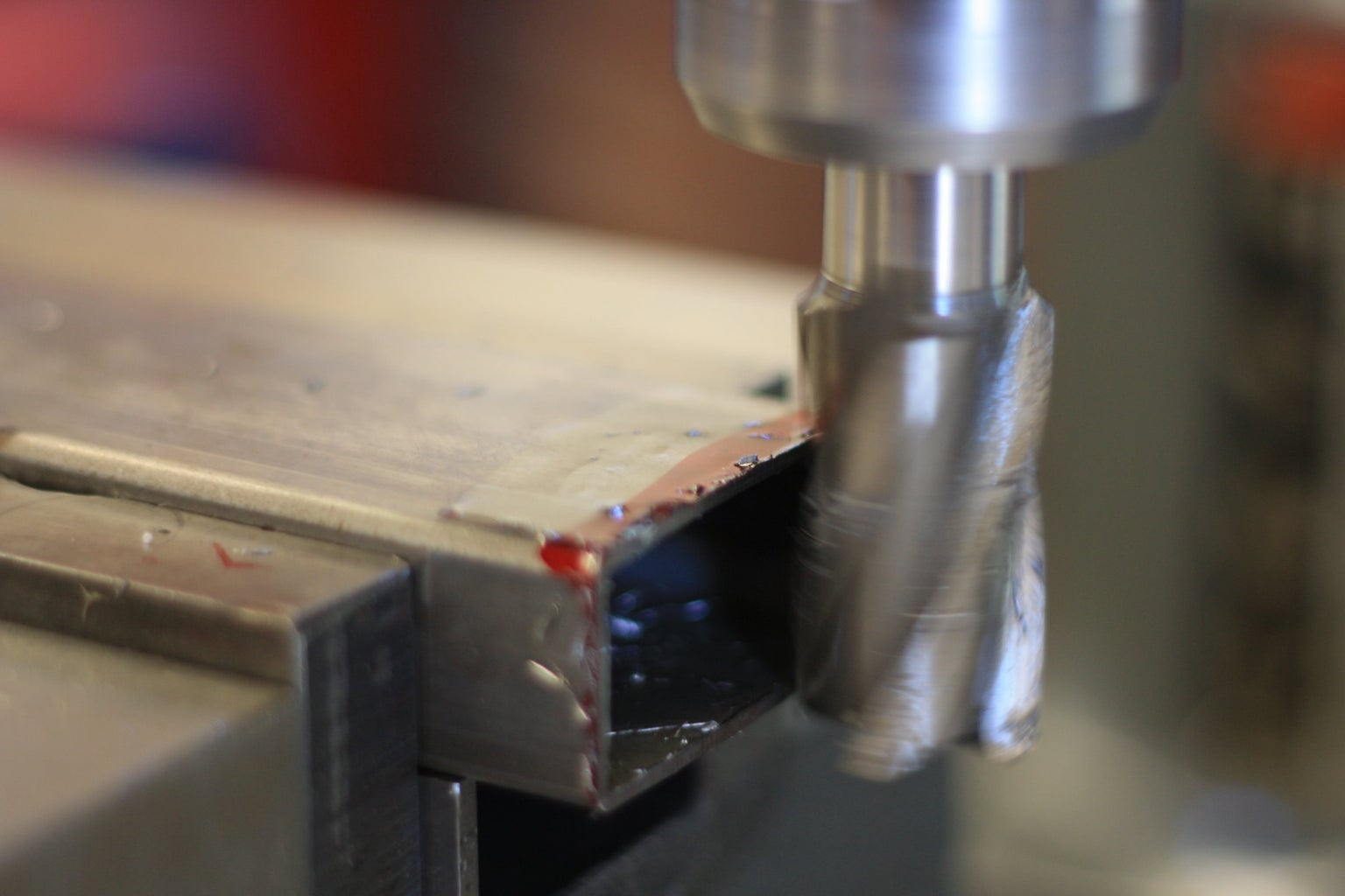 """Cut Rectangular Tubing to Length: One 14"""" Piece and One 4-1/4"""" Piece"""