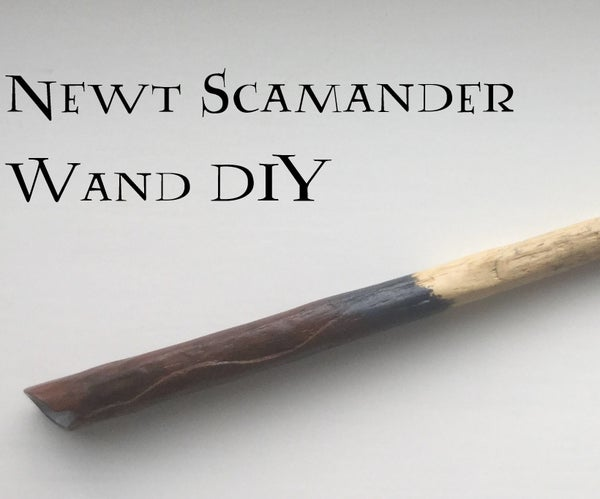 How to Make Newt Scamander's Wand (from Fantastic Beasts)
