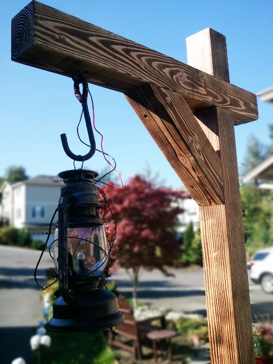 Haunted Walkway Lantern Posts : 7 Steps (with Pictures ...