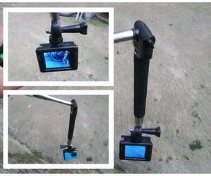 DIY Camera Stabilizer Using Old Monopod