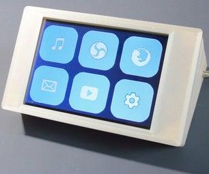 A Bluetooth ESP32 TFT + Touch Macro Keypad)