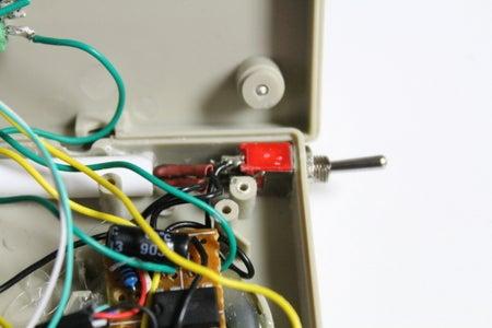 Adding the Battery Holder